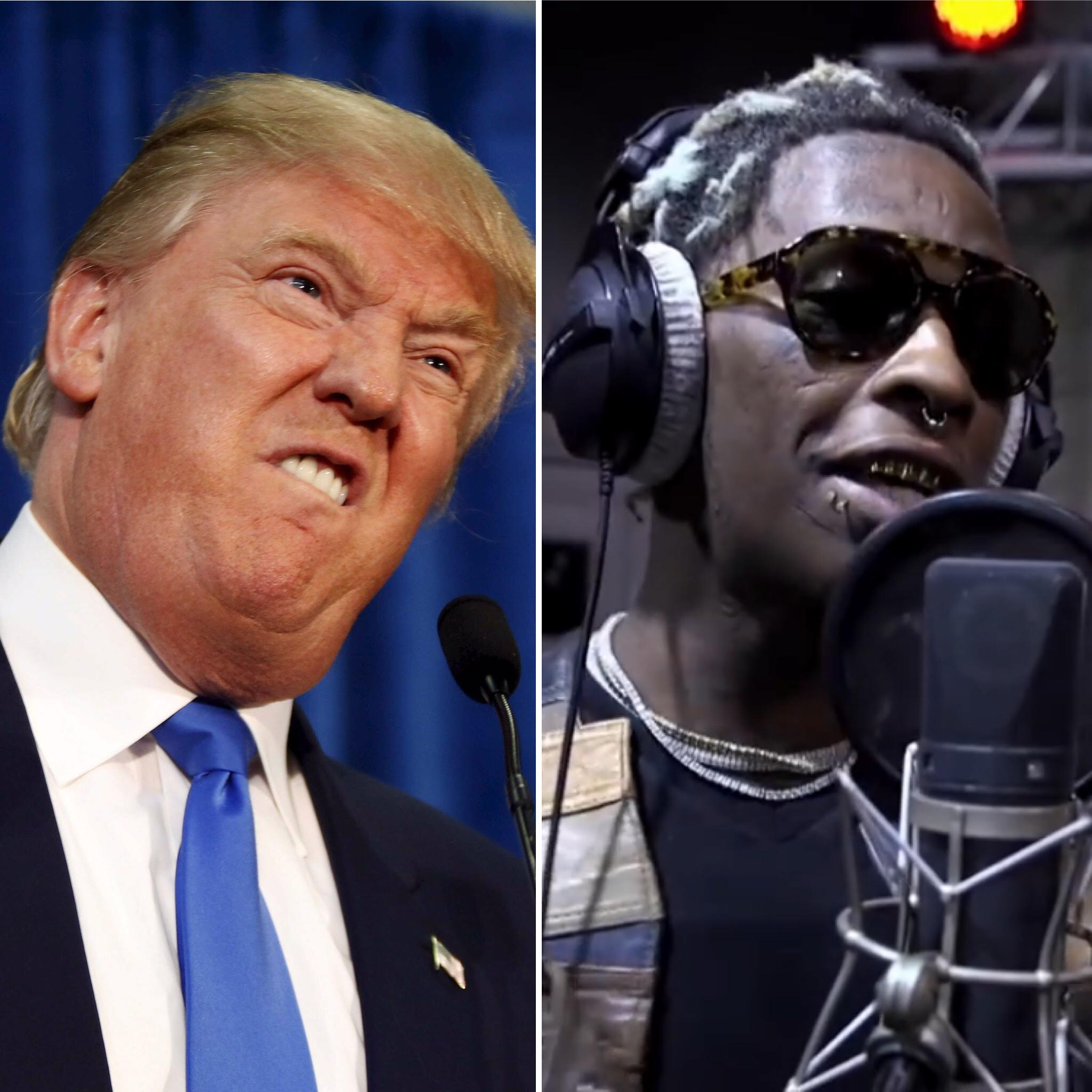 donald trump and young thug in common